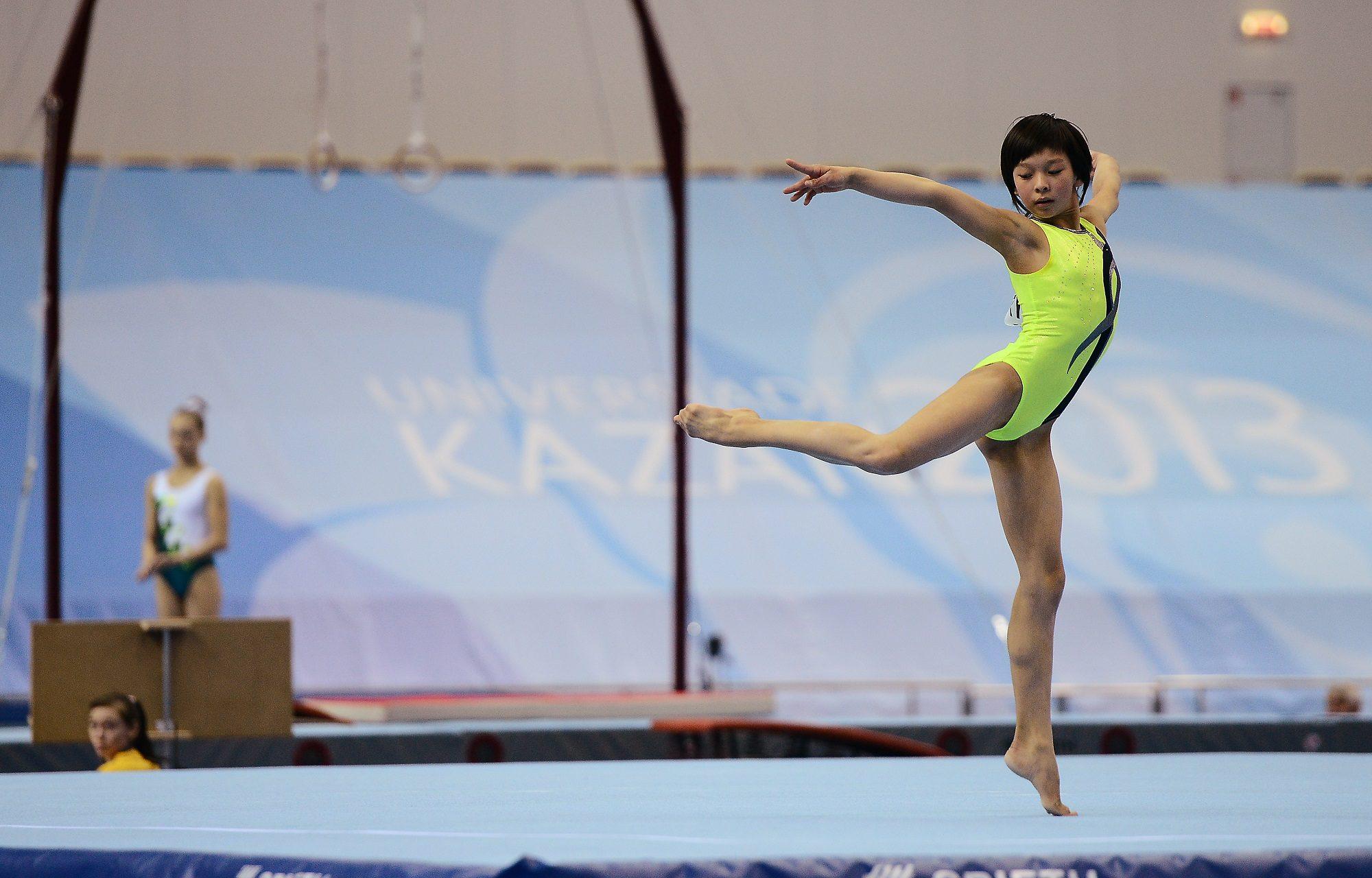 Открытый личный кубок РТ по спортивной гимнастике