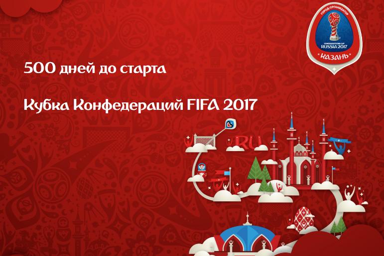 На Жеребьевку Кубка Конфедераций в Казани приедет порядка 800 гостей