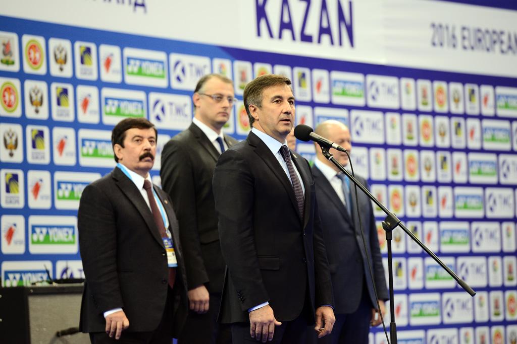 В Казани дали старт чемпионату Европы по бадминтону
