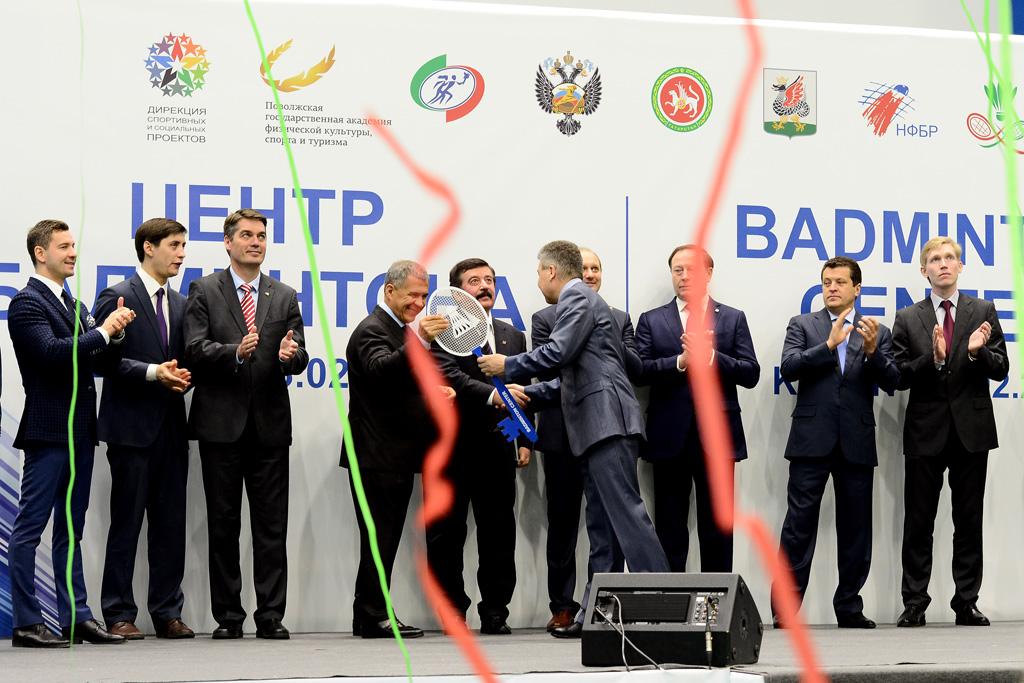 В Казани открылся Центр бадминтона