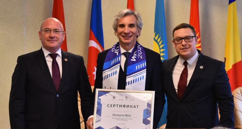 Ирек Зиннуров: «Уверен, что Игры стран СНГ помогут нашим народам стать еще ближе»
