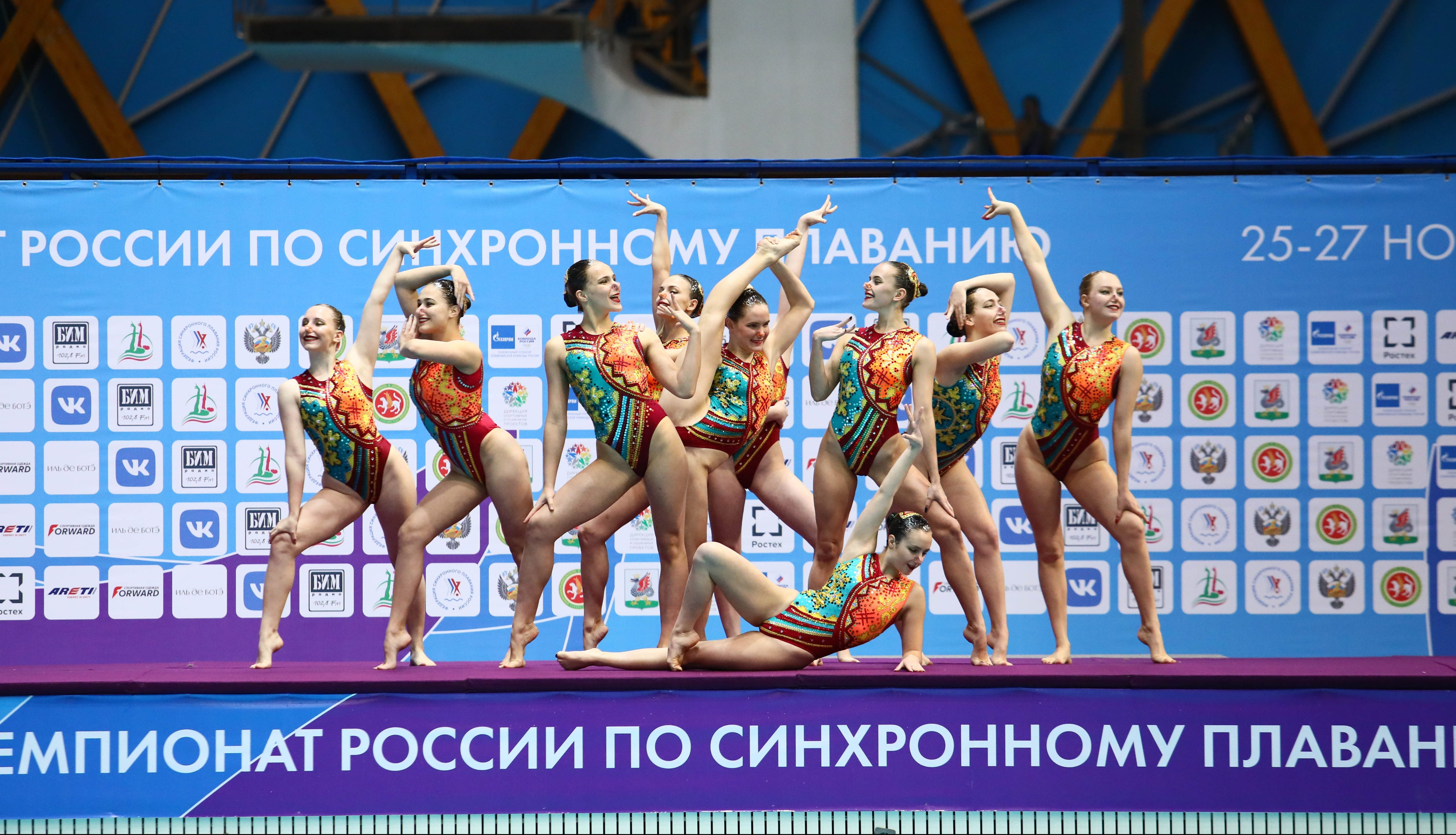 Акробатическая группа из Москвы выиграла в произвольной программе на чемпионате России