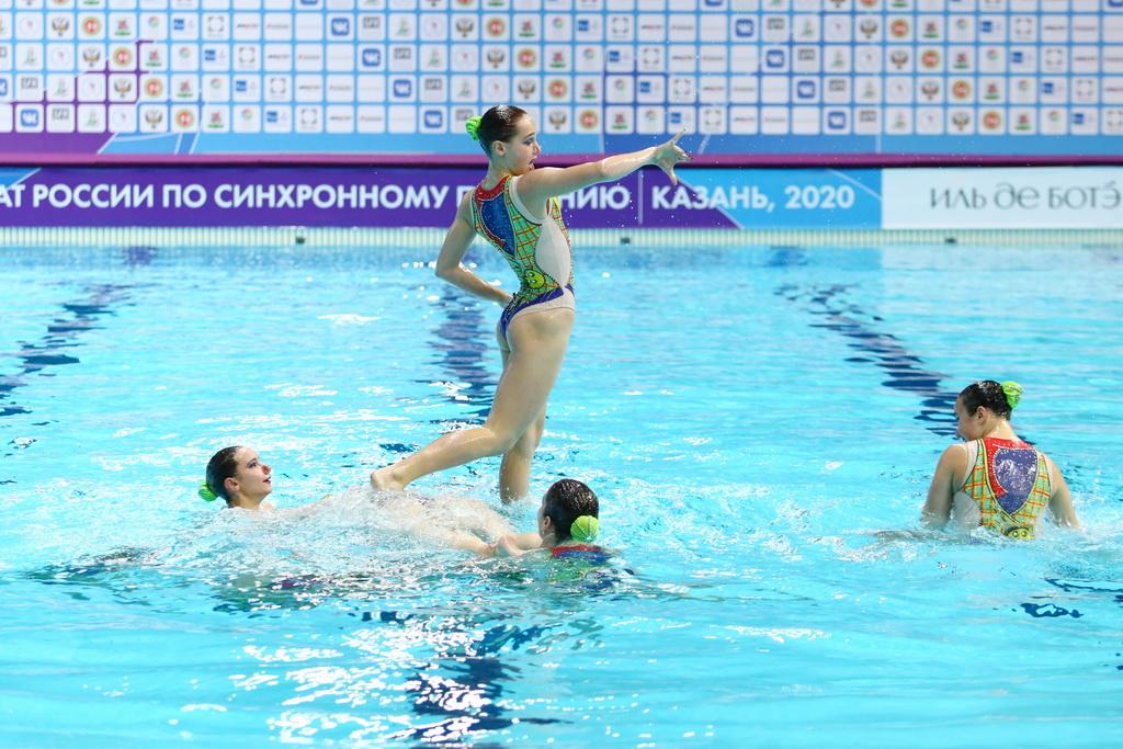 В Казани открылся чемпионат России по синхронному плаванию