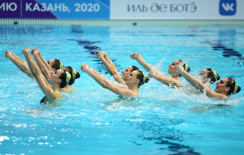 Синхронистки из Москвы заняли первое место в произвольной программе на чемпионате России