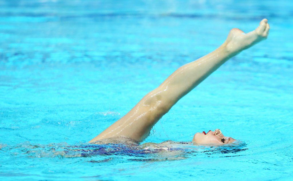 Надежда Демидова выиграла в произвольной программе на чемпионате России в Казани