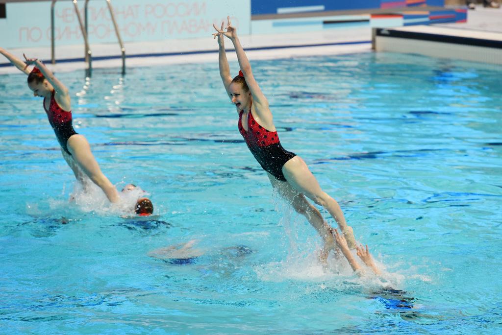 Казань вновь примет чемпионат России по синхронному плаванию