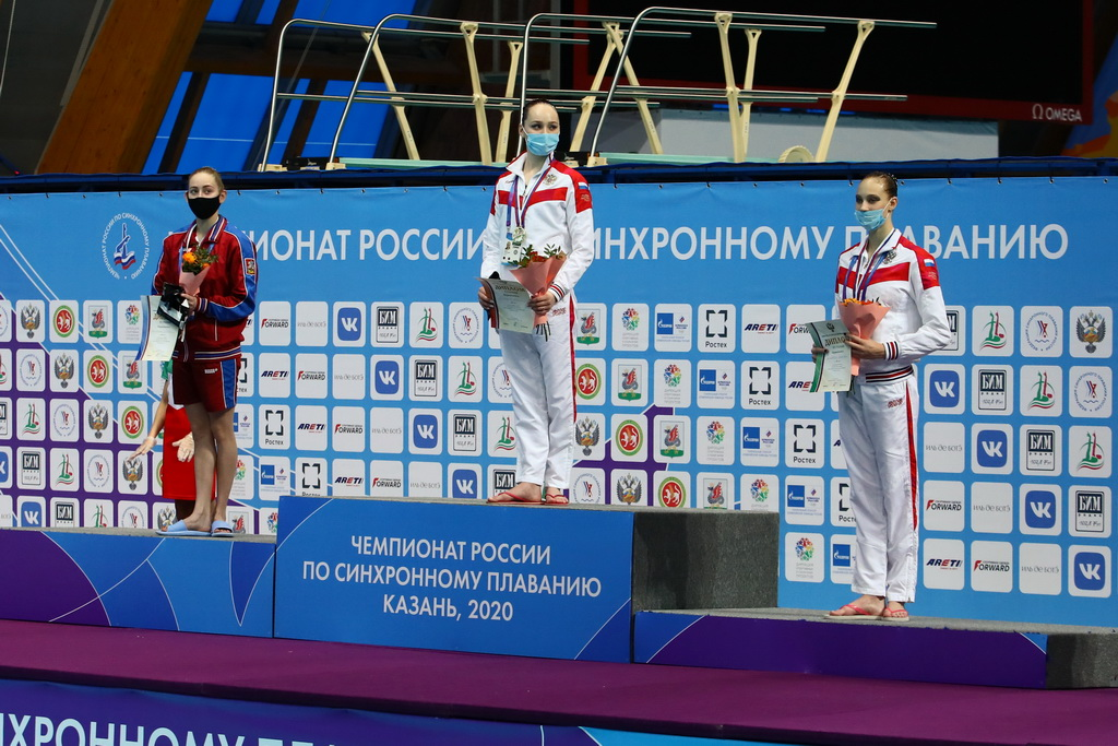 Дарья Кирсанова получила «золото» в технической программе на чемпионате России по синхронному плаванию