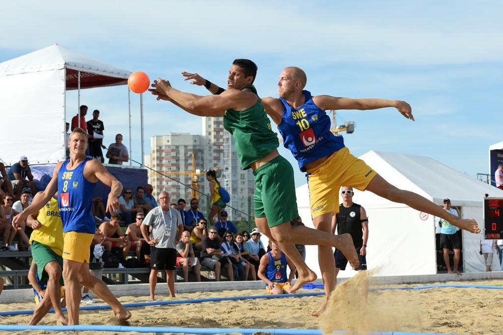 Чемпионат мира по пляжному гандболу среди мужских и женских команд 2018