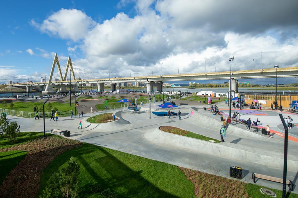 В дни проведения I Всероссийских городских Игр парк «УРАМ» будет открыт для зрителей с 11.00 до 20.45