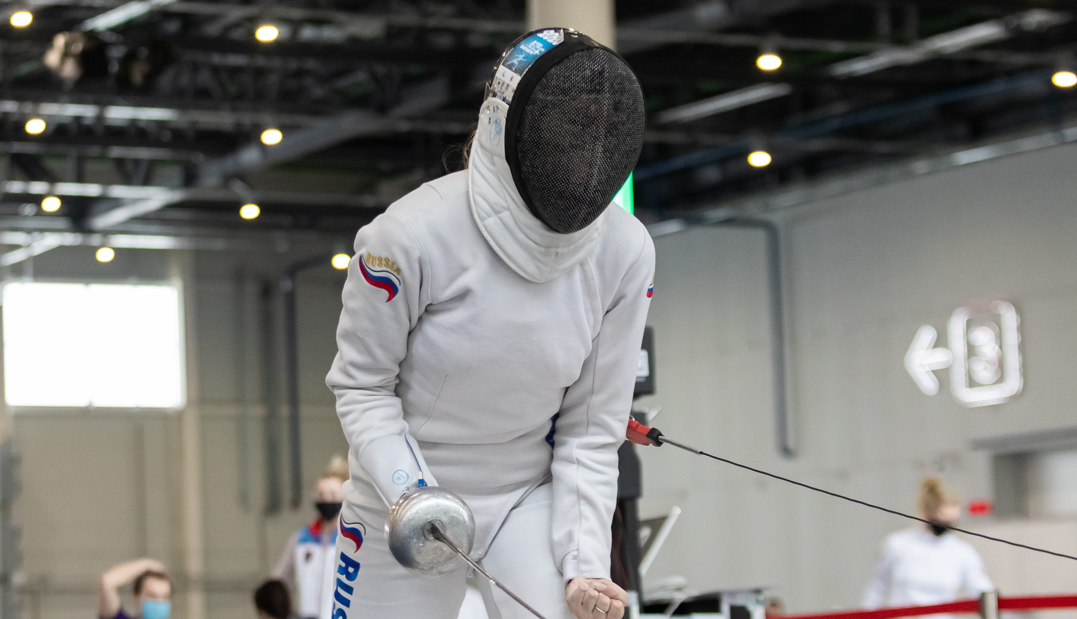 Women's events kick off at FIE World Cup leg in Epee in Kazan