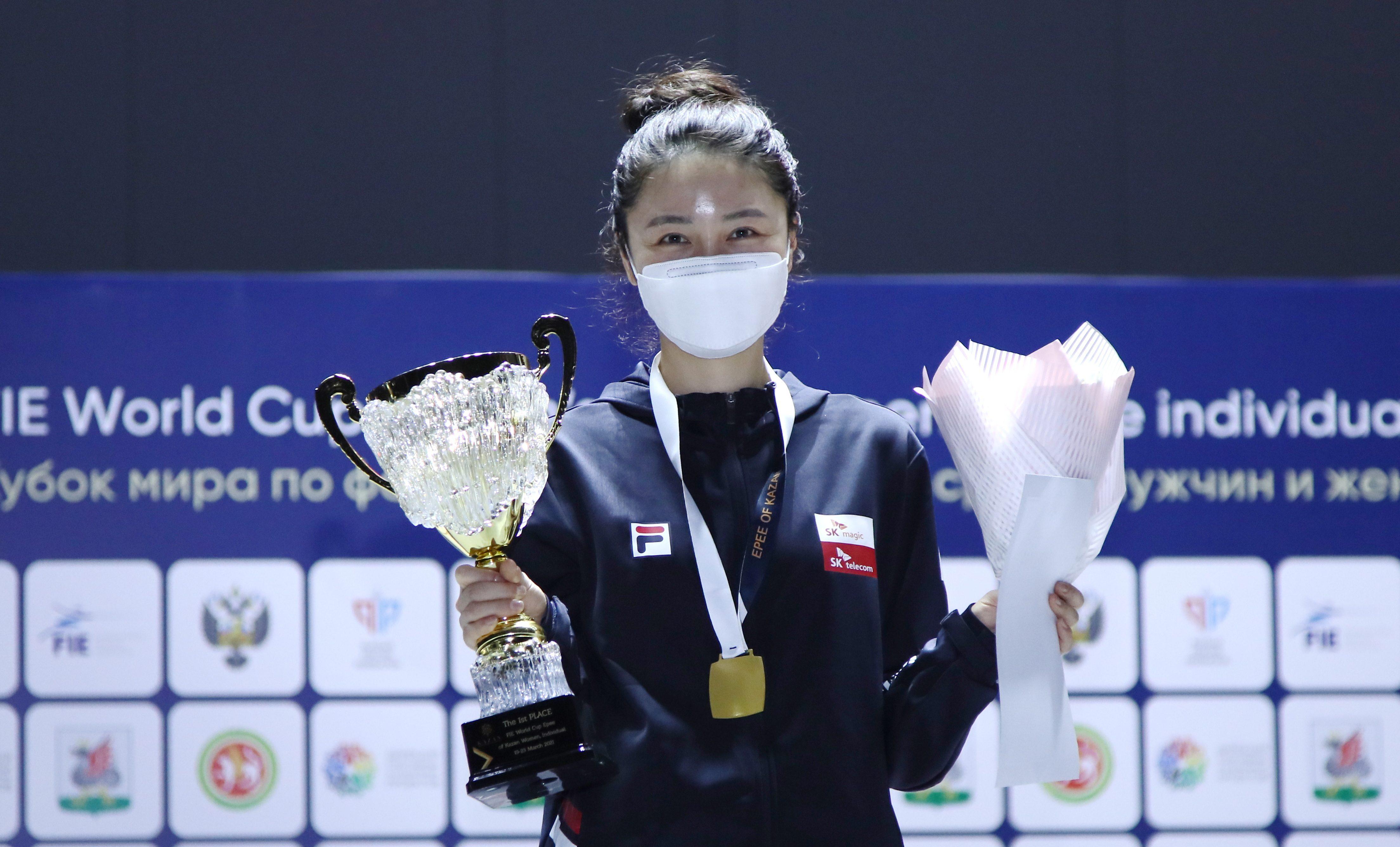 Кореянка Чой победила в личном турнире этапа Кубка мира по фехтованию в Казани
