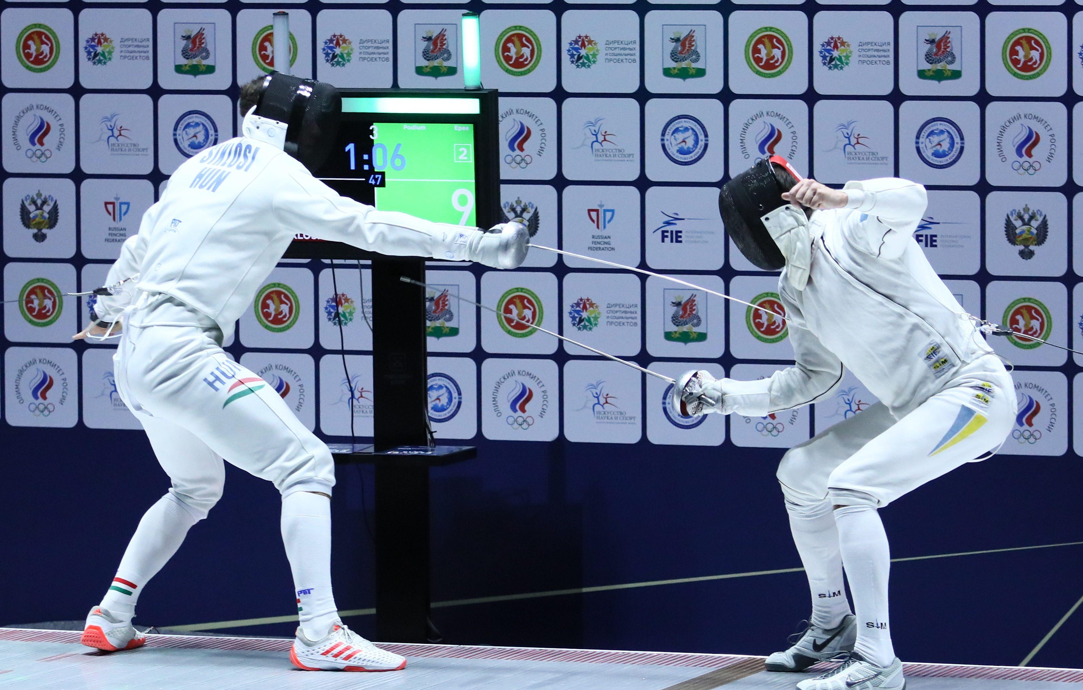 Игорь Рейзлин победил в личных соревнованиях по фехтованию в Казани