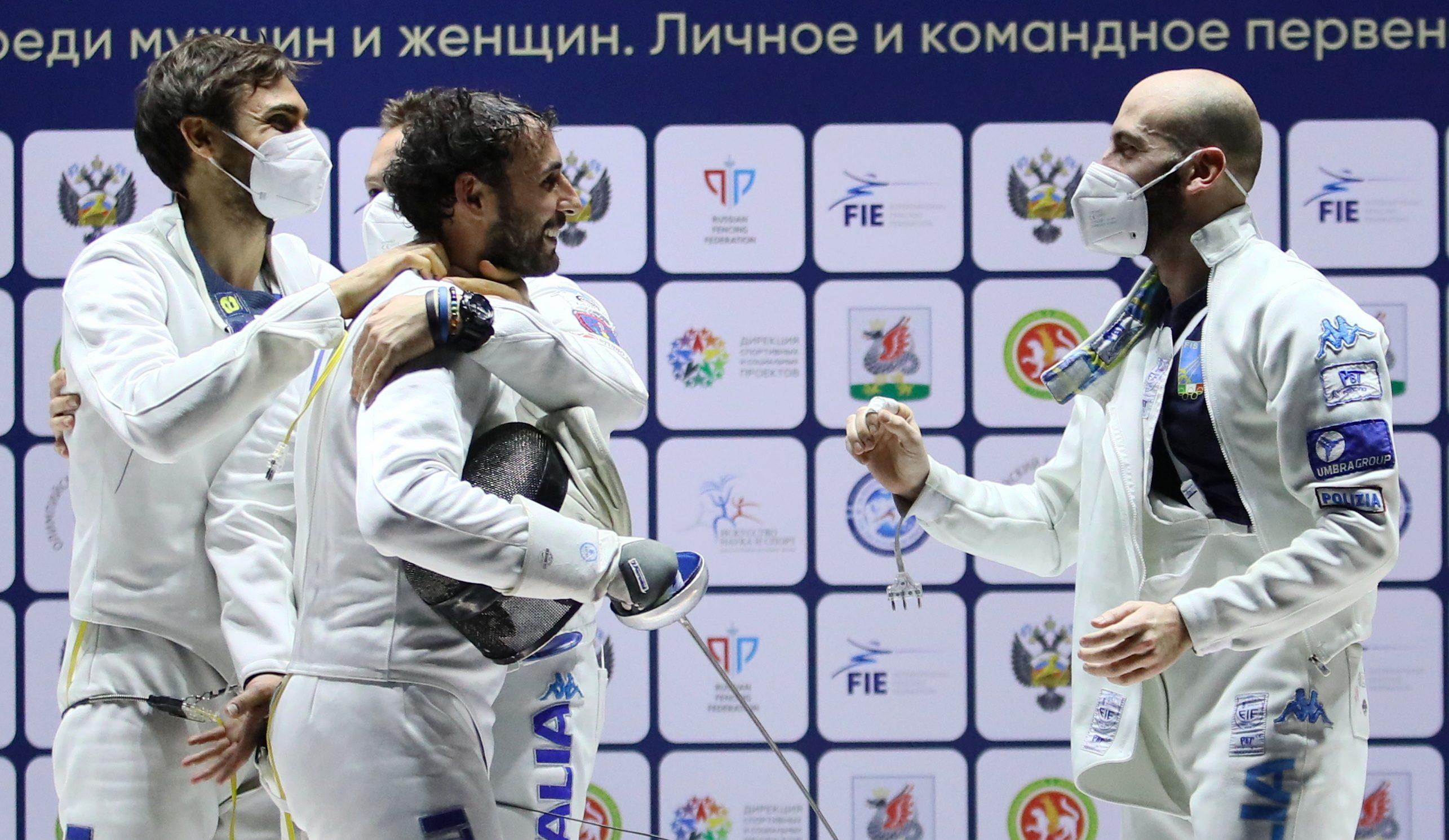 Сборная Италии выиграла мужской командный турнир международных соревнований «Шпага Казани»
