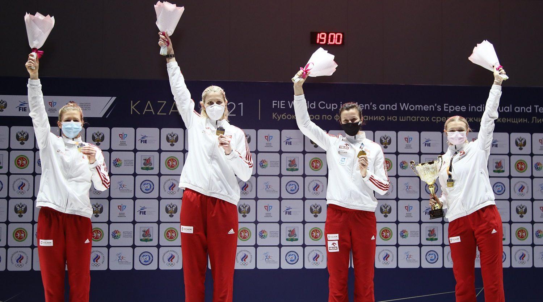 Шпажистки сборной Польши стали первыми на ЭКМ по фехтованию в Казани