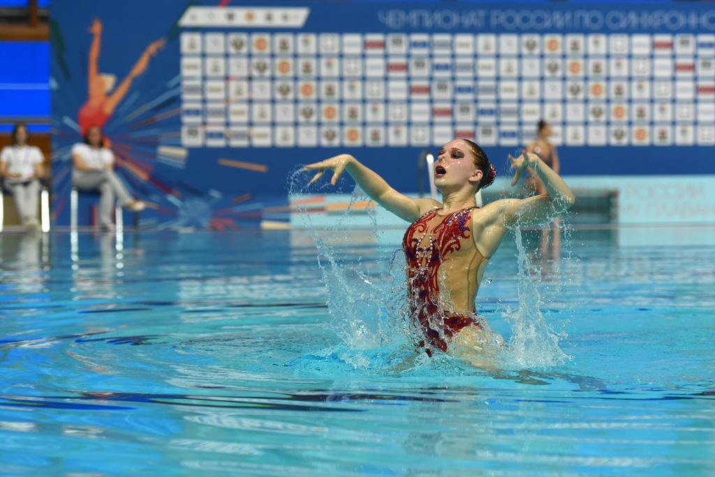Чемпионат России по синхронному плаванию 2018