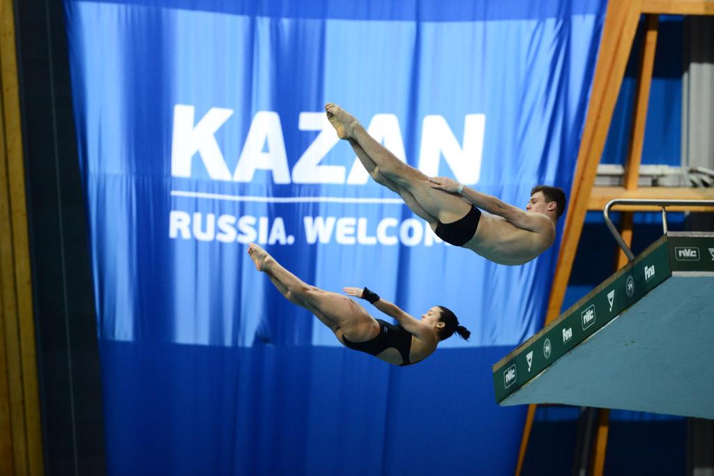 Этап Мировой серии ФИНА по прыжкам в воду 2017