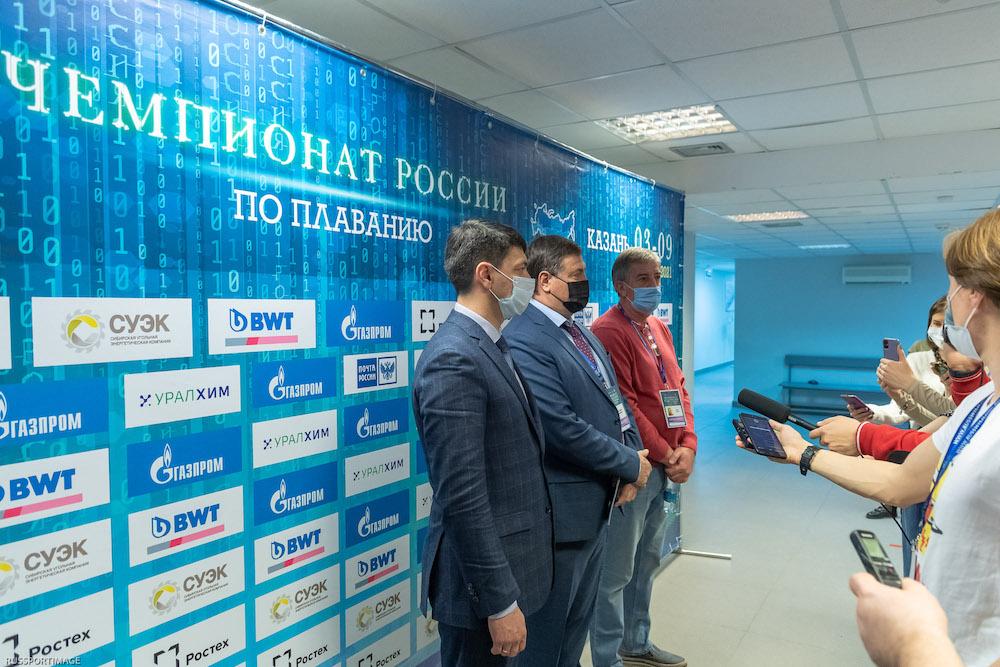 Дан старт чемпионату России по плаванию 2021 года