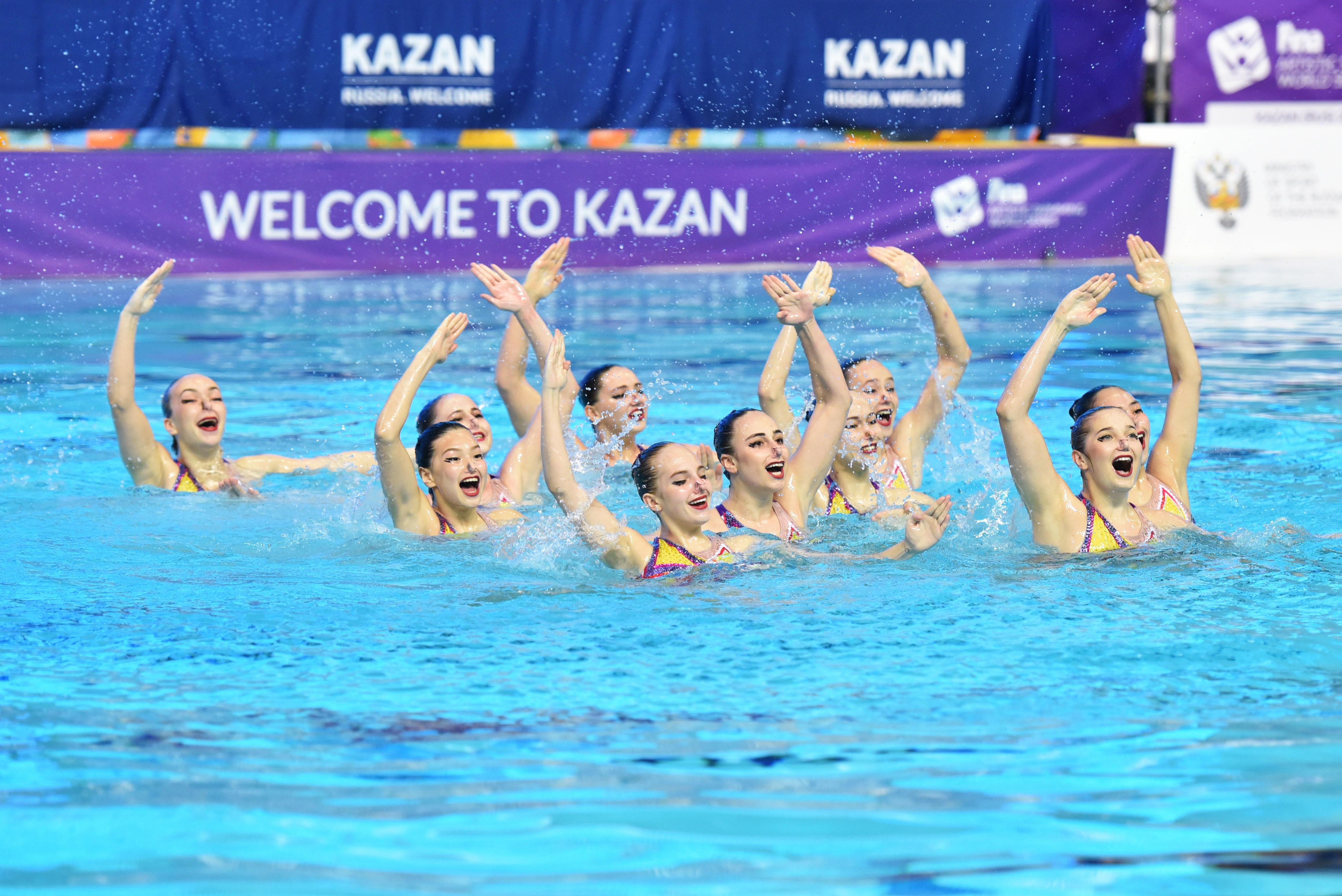 В Казани пройдет Этап Мировой серии FINA по синхронному плаванию