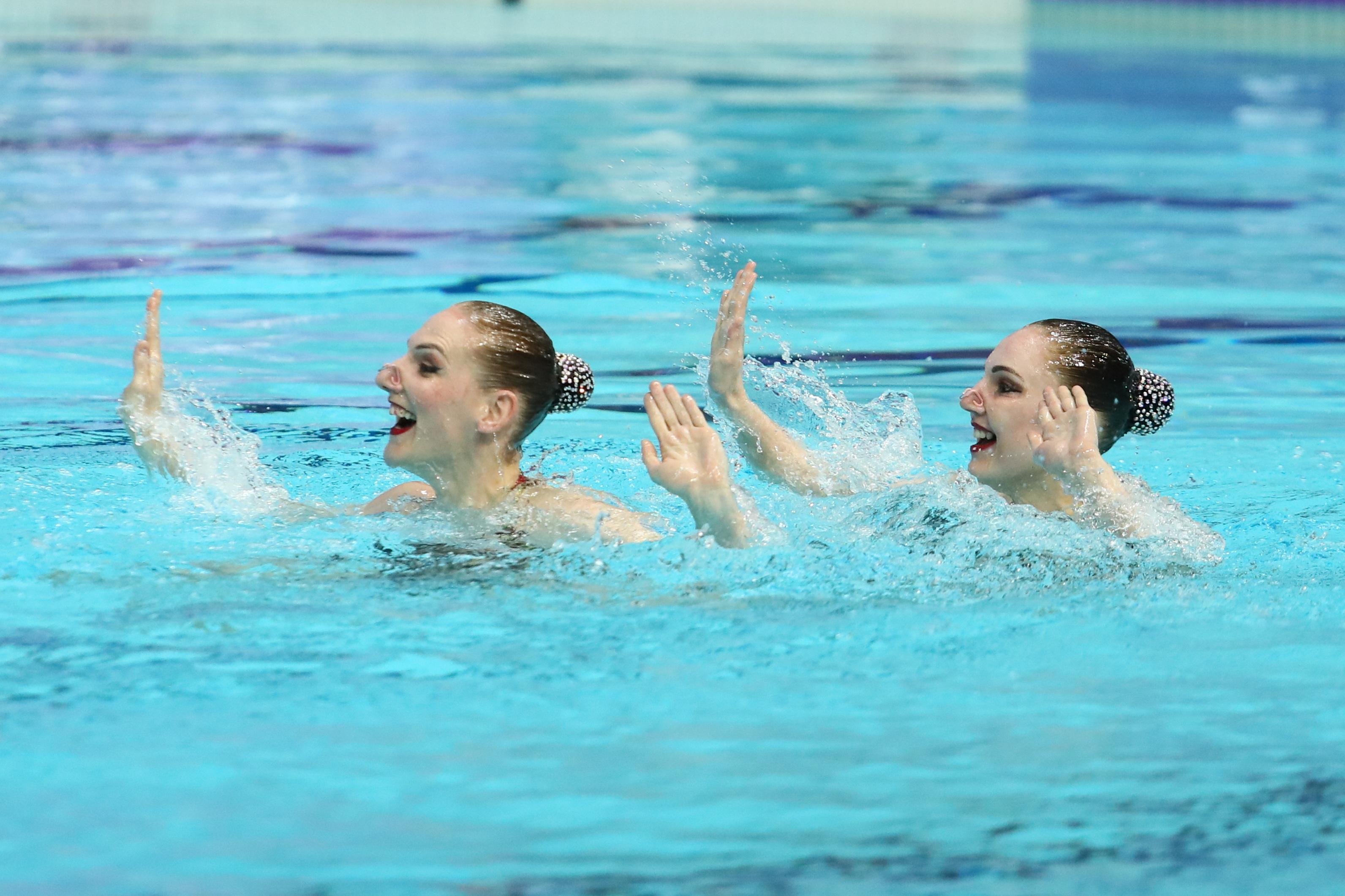 Российские синхронистки завоевали четыре золота на этапе Мировой серии FINA в Казани