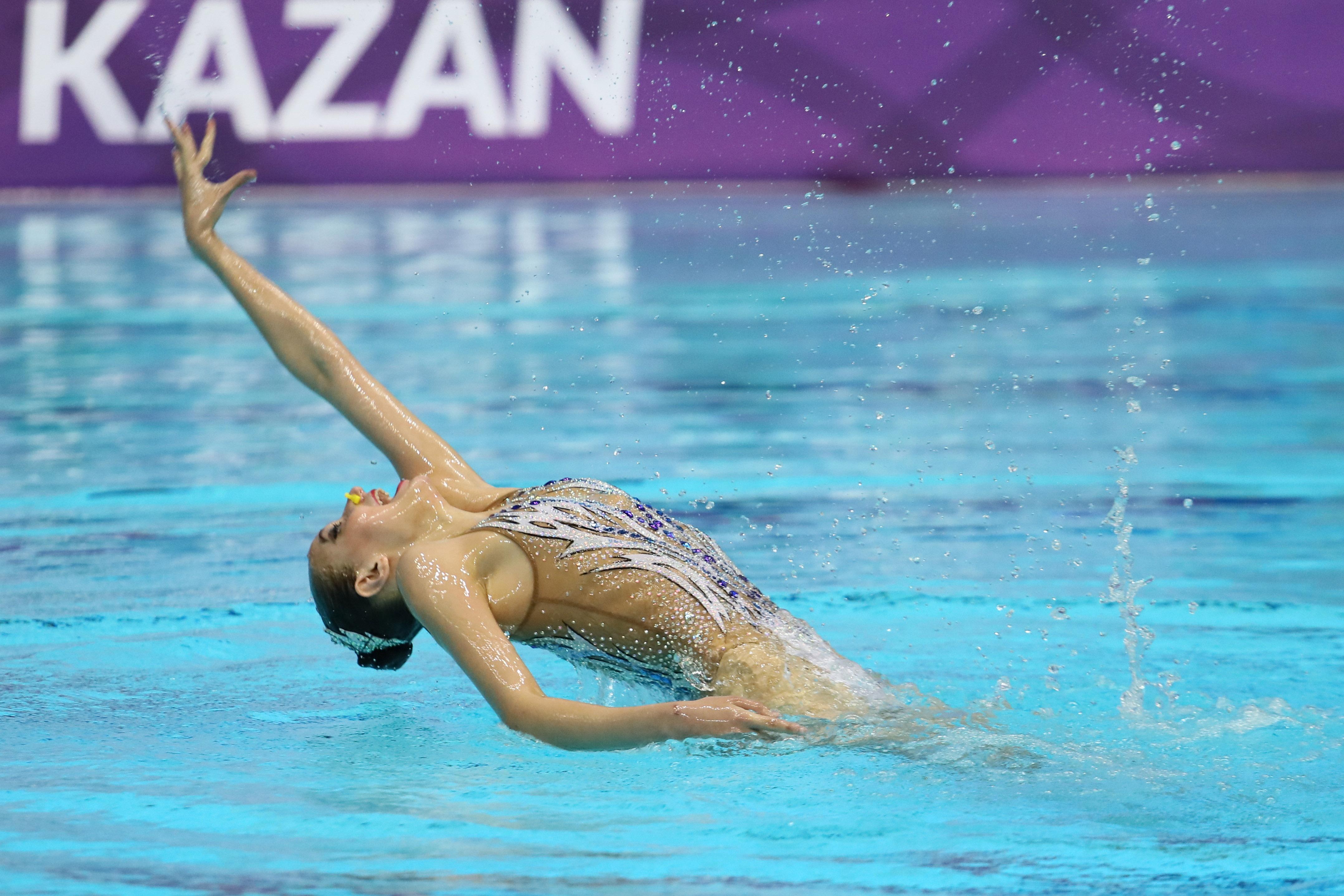 Дарья Кирсанова завоевала второе золото на этапе Мировой серии в Казани