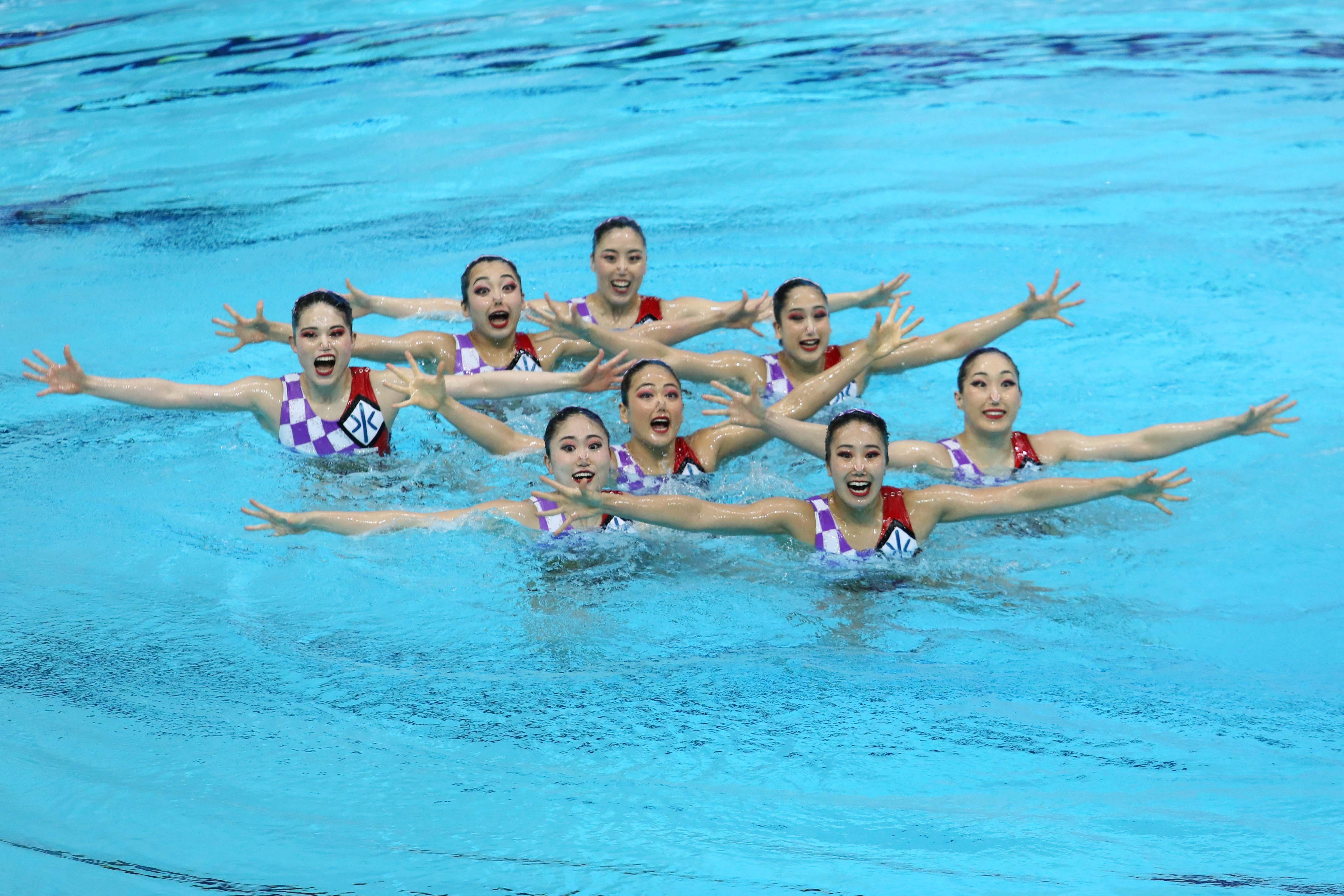 Мировая серия FINA по синхронному плаванию 2021