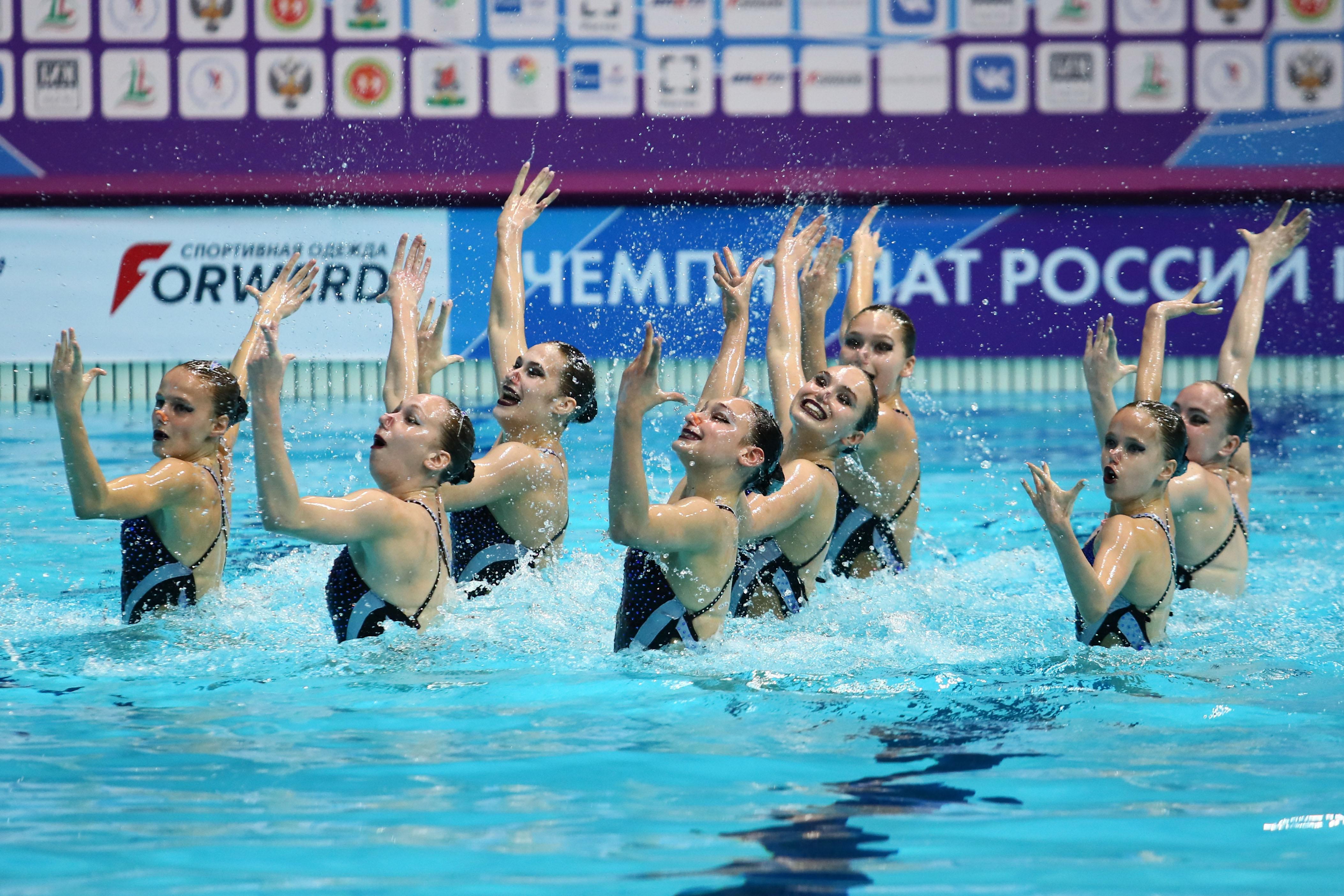 В Казани пройдет чемпионат России по синхронному плаванию