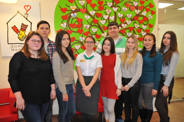 Волонтеры Kazan Volunteers начинают сотрудничество с Домом Роналда Макдоналда в Казани