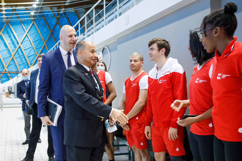 Г-н Хусейн Аль-Мусаллам: «Казань играет важную роль в развитии водных видов спорта»