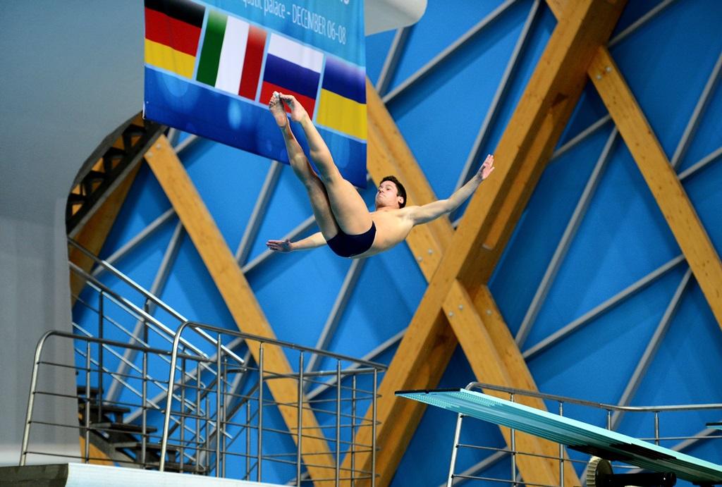 Матч 4 стран по прыжкам в воду