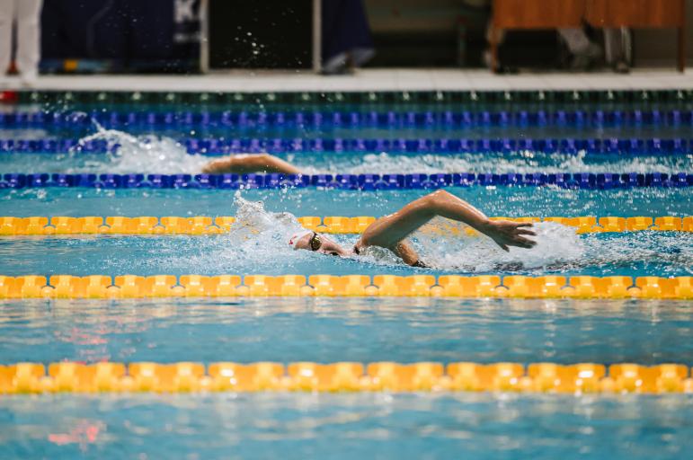 Александра Хайлова выиграла на дистанции 1500 м вольным стилем на чемпионате России в Казани