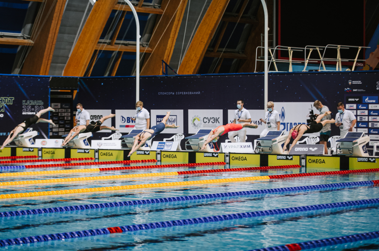 Арина Опенышева выиграла чемпионат России на стометровке вольным стилем