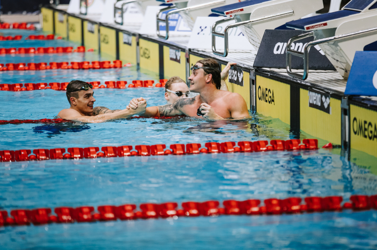 Олег Костин взял «золото» на дистанции 50 м баттерфляем на ЧР в Казани