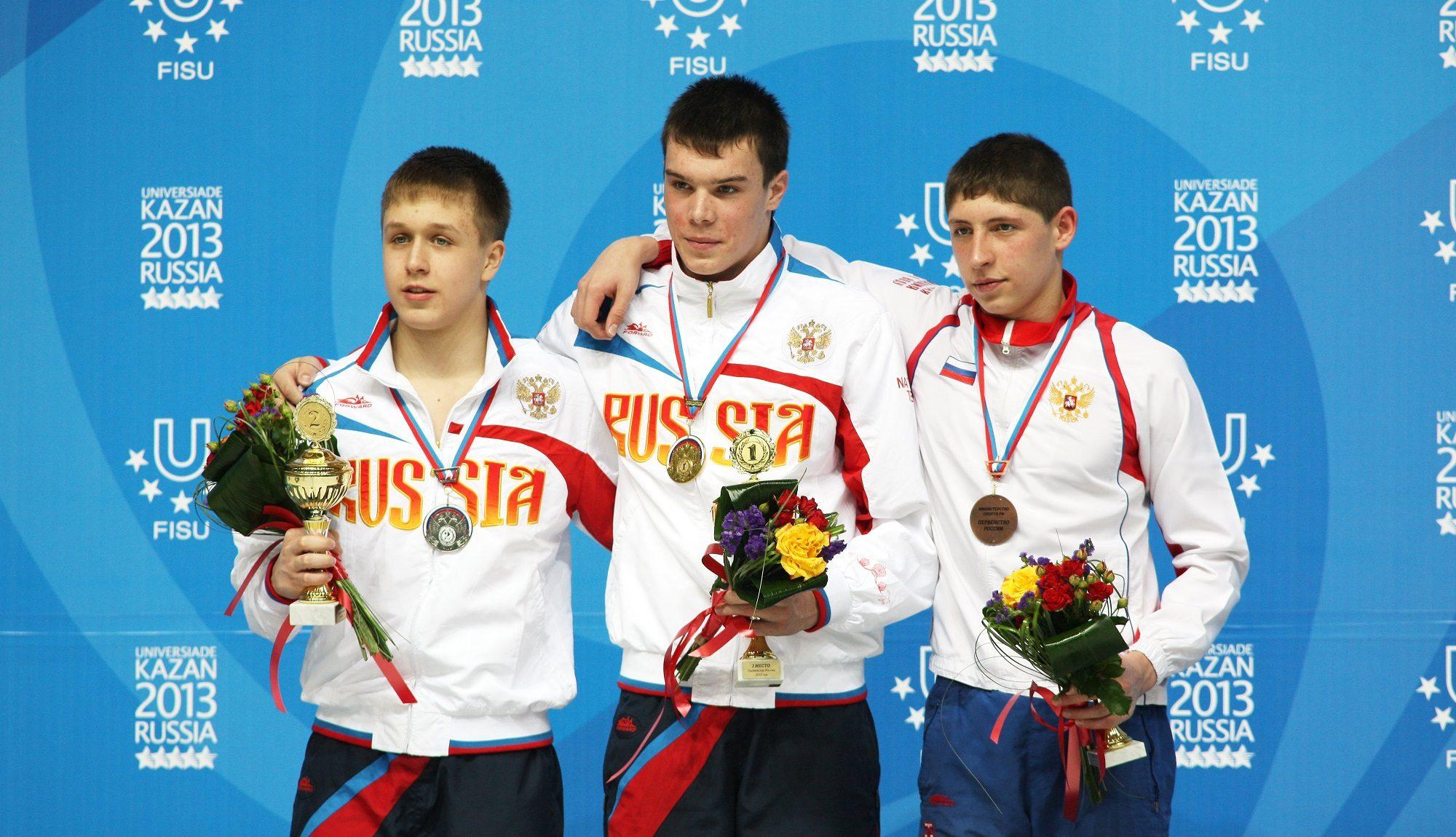 Первенство России среди юниоров по прыжкам в воду