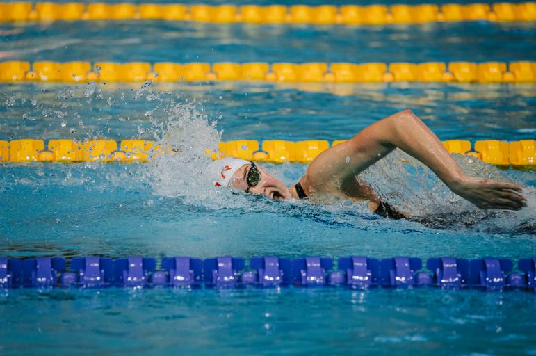Валерия Саламатина стала первой на 400-метровке вольным стилем