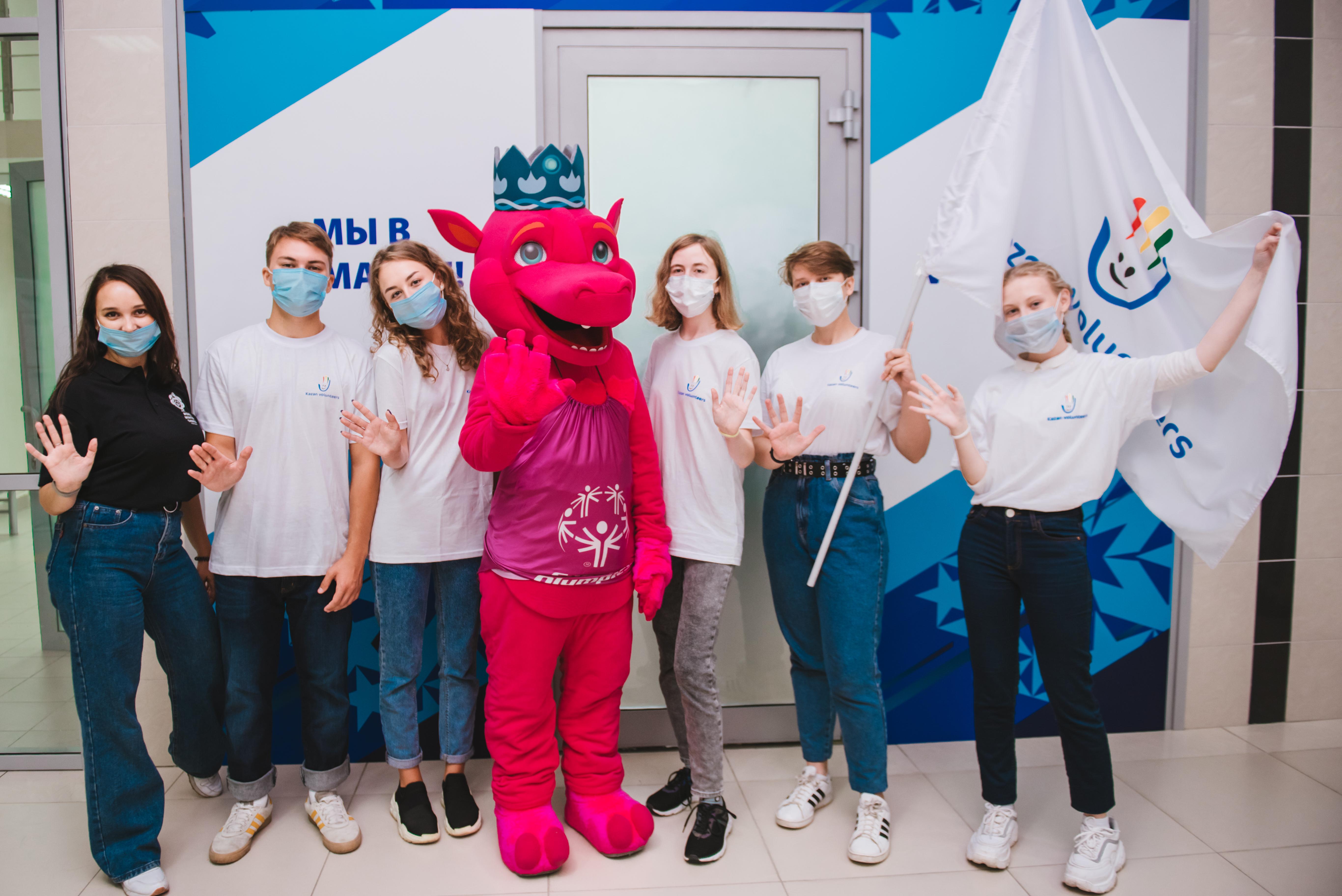 В Казани открылся Центр рекрутинга волонтеров Всемирных зимних игр Специальной Олимпиады 2022