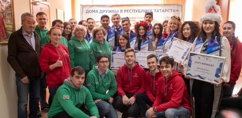 Стартовала волонтерская программа Первых Игр стран СНГ