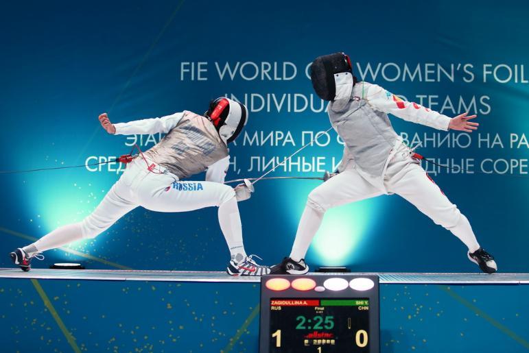 Определились участницы «табло 64» на этапе Кубка мира по фехтованию