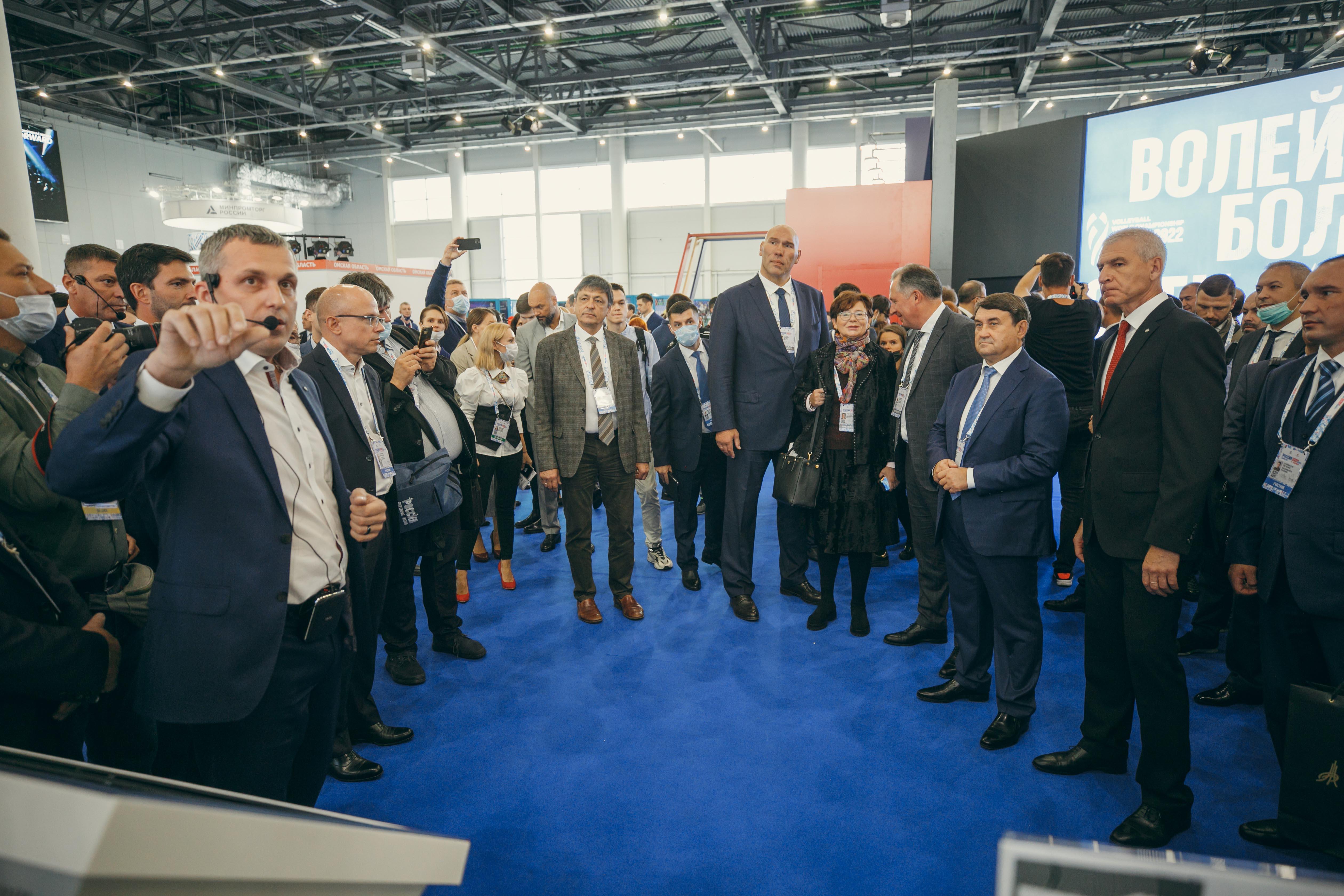 В Казани открылся IX Международный спортивный форум «Россия – спортивная держава»