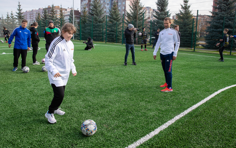 В Казани состоялся инклюзивный матч с участием атлетов Специальной Олимпиады